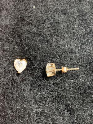 Photo Real 10k gold earrings
