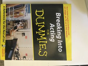 Breaking into Acting for Dummies for Sale in Santa Monica, CA