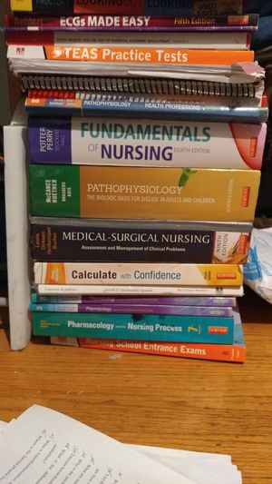 Nursing college books for Sale in San Francisco, CA