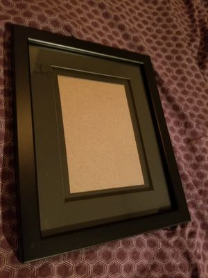 Free Black Picture Frame 8x10 for 5x7 for Sale in Denver, CO