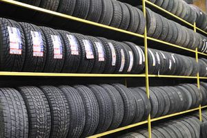 Photo Used Wheel and Tires