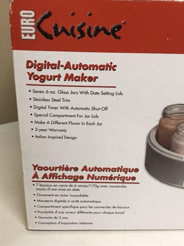 Automatic Yogurt Maker Euro Cuisine For Sale In Phoenix Az Offerup