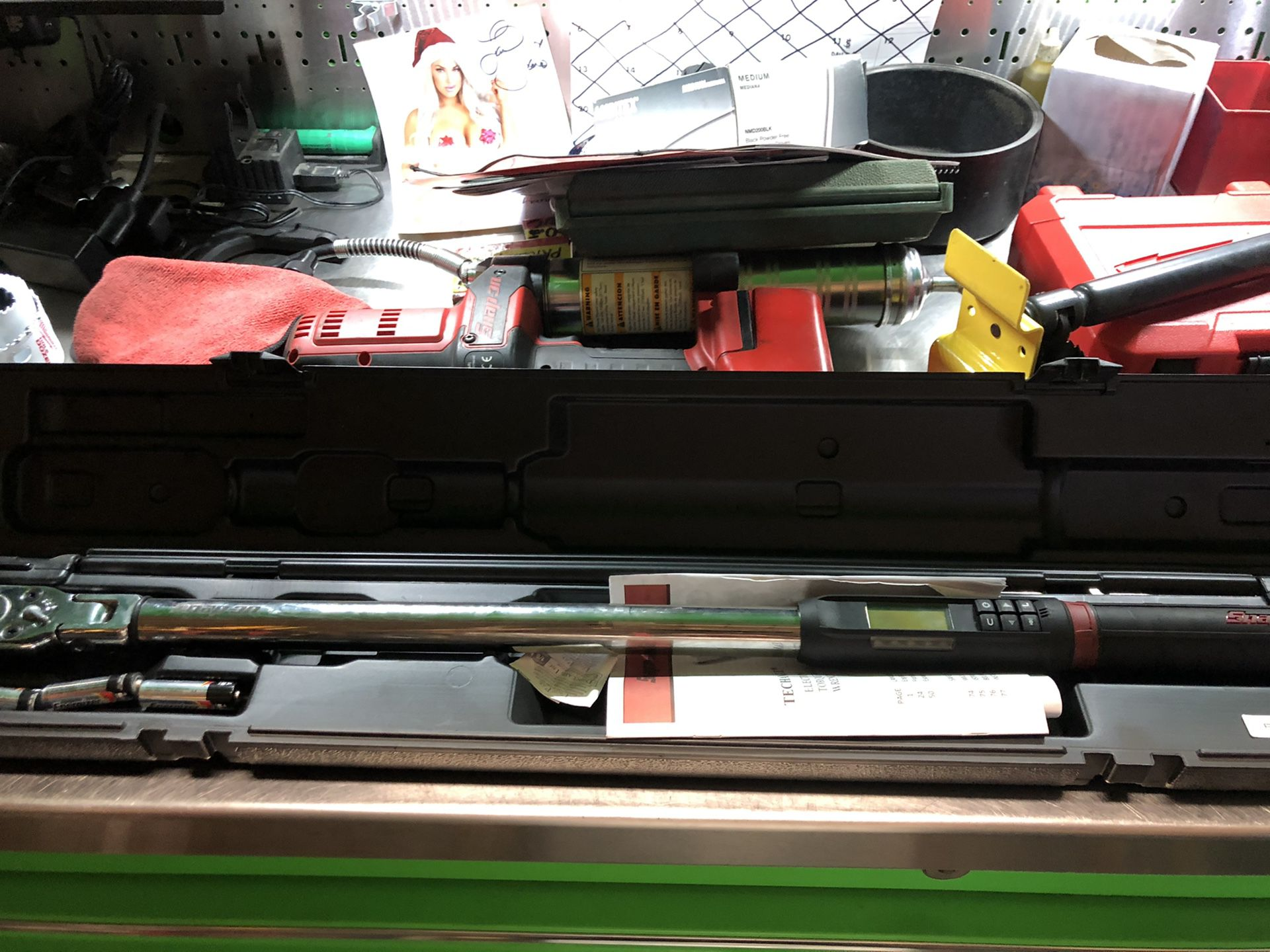Snapon 1/2 tech torque wrench