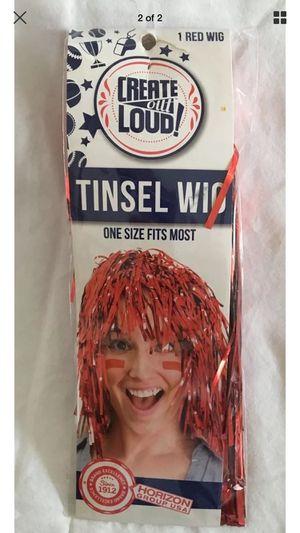 Tinsel Fun Party Wig Disco for Sale in Union City, CA