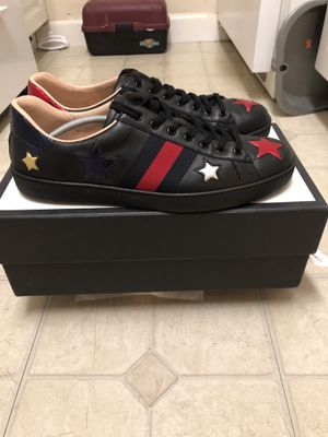 Authentic Gucci star sneakers for Sale in Arlington, VA
