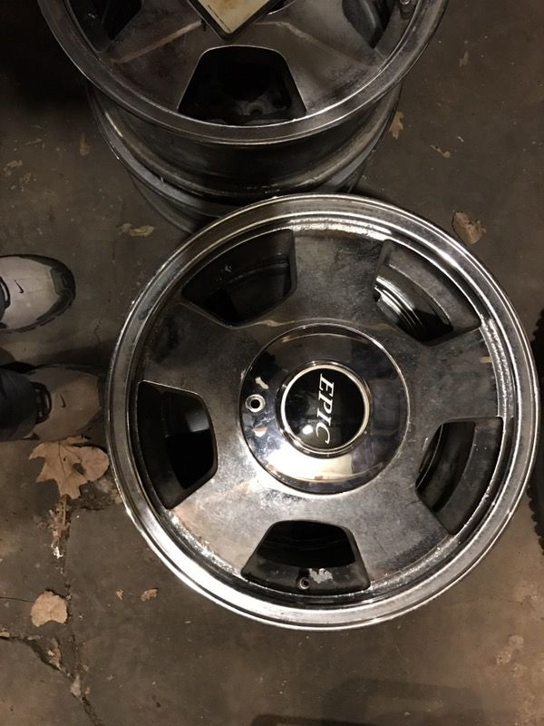 "15"" Hammer Rims for Sale in Bellwood, IL - OfferUp"