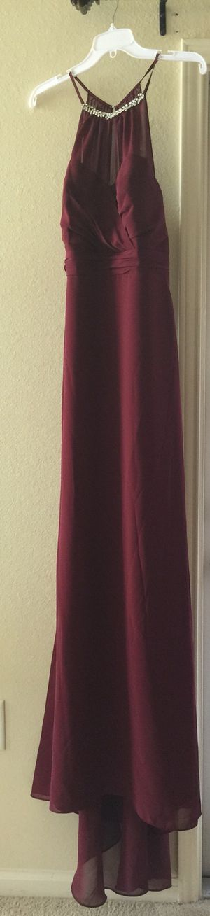 Alfred Angelo Mahogany Bridesmaid/Prom/Formal Dress (size 18) for Sale in Cary, NC