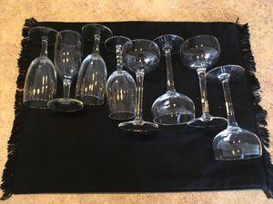 4 Port Glasses, 4 Champagne Glasses for Sale in Ranson, WV