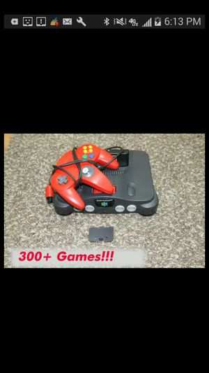 N64 Nintendo 64 with all games on it for Sale in New York, NY