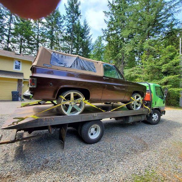 1998 Mitsubishi Fuso Tow Truck For Sale In Tacoma, WA
