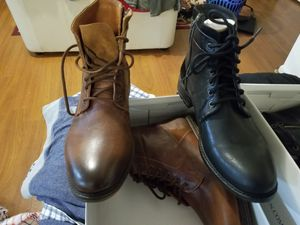 Mens Boots, Steve Madden, Hardin Size 12.5 (black & brown) best for the pair for Sale in Mount Rainier, MD