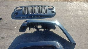 2008 Jeep Wrangler fender and grill for Sale in Baltimore, MD