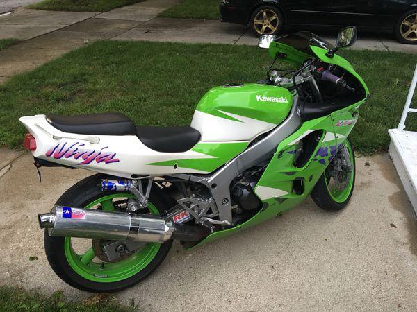 Kawasaki Ninja Zx6r 1996 For Sale In Aurora IL