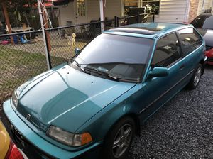 91 honda civic si for Sale in Hyattsville, MD