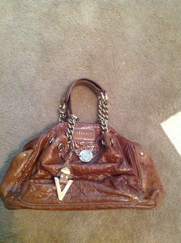 b5cb36cc03 Versace patent leather bag (Jewelry   Accessories) in Port St. Lucie ...