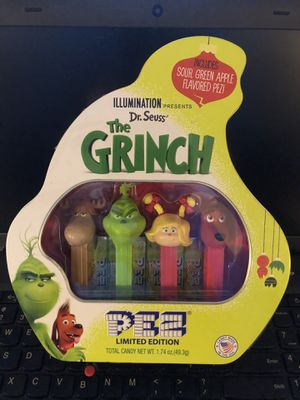Photo Dr. Seuss : The Grinch Limited Edition Pez Dispenser Collection