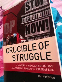 Crucible of Struggle by Zaragosa Vargas 2nd Edition Thumbnail