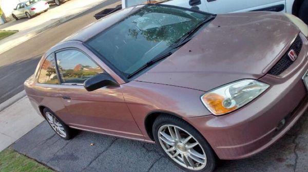 2001 Honda Civic Lx Rose Gold