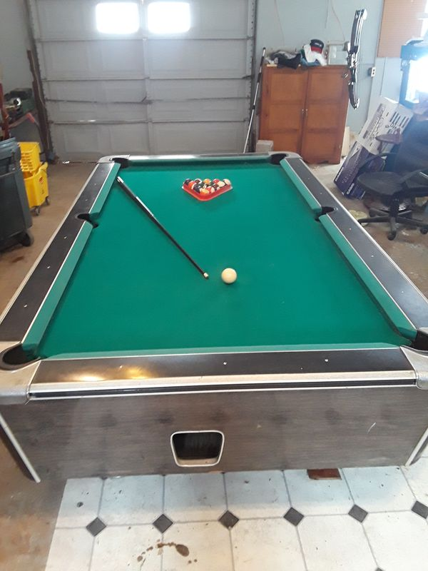 United Billiards Pool Table For Sale In Adams TN OfferUp - United billiards pool table coin operated