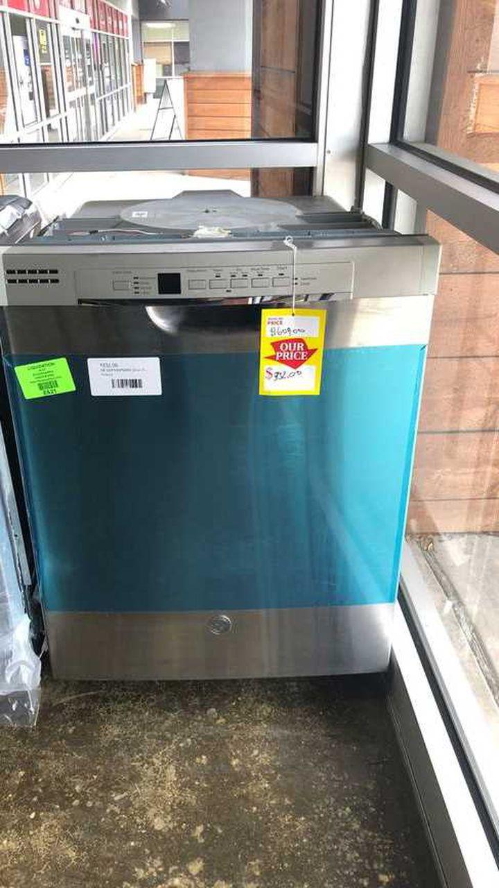 "GE 24"" Stainless Steel Dishwashers 4P"