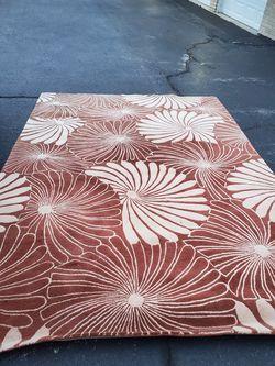Large heavy decorative carpet Thumbnail