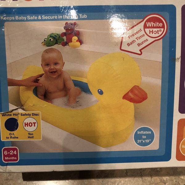 Munchkin White Hot Inflatable Duck Tub for Sale in Milpitas, CA ...