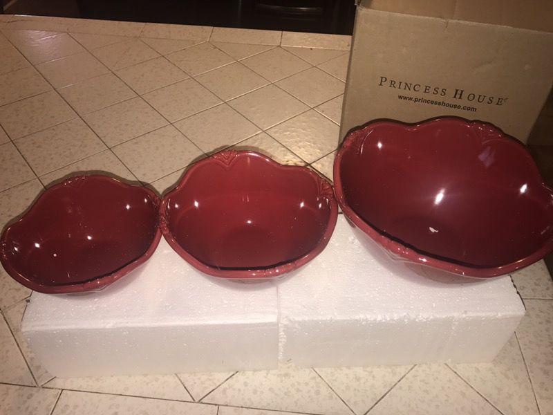 Princess House Bowls