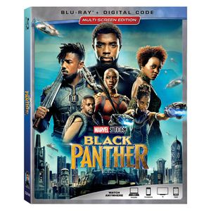 Marvel Black Panther (Blu-ray + DIGITAL CODE) w/ Slipcover 2018 NEW SEALED for Sale in San Diego, CA
