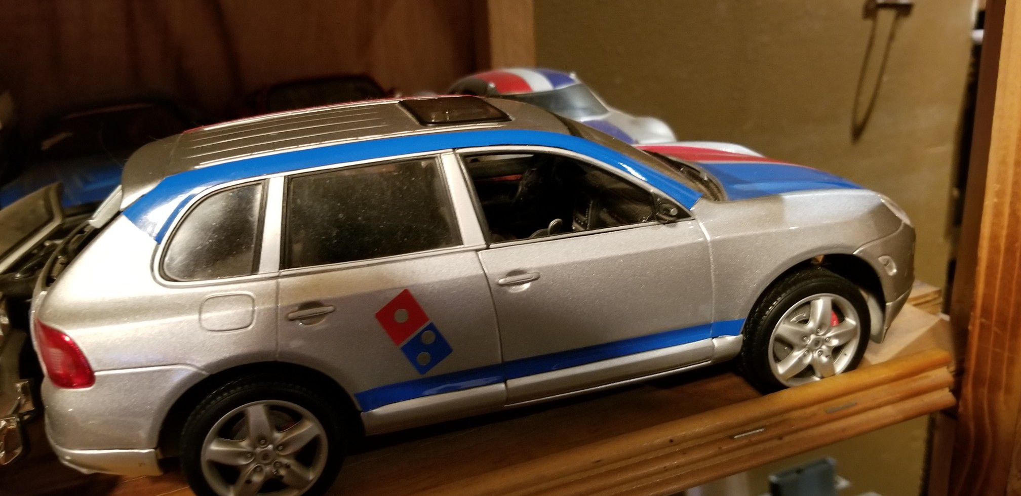 Dominos pizza custom delivery collectable car