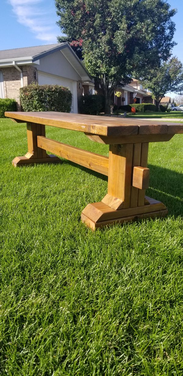 Hand crafted Bench, Wood Bench, Rustic Bench, Reclaimed ...
