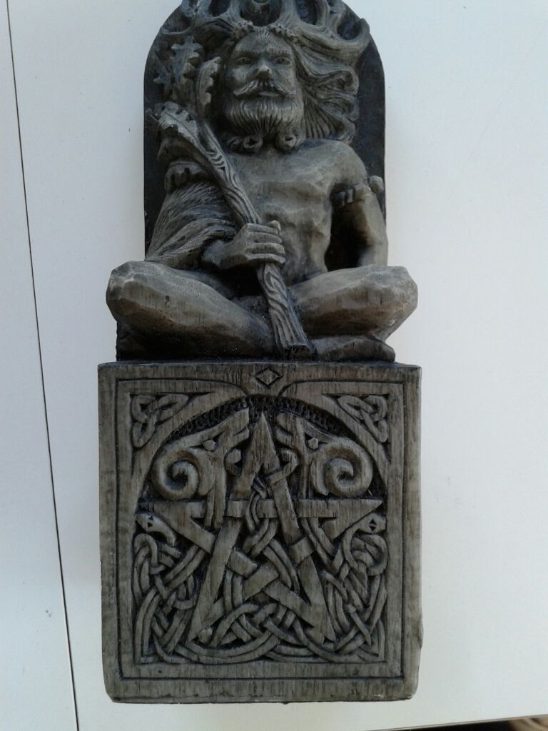 Mythological icon Statue