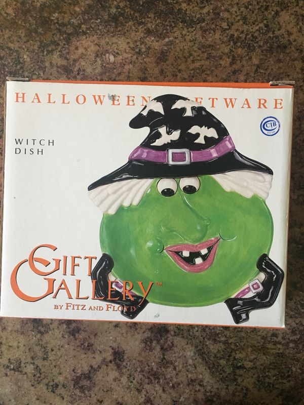 fitz and floyd halloween witch dish for sale in glendale az offerup