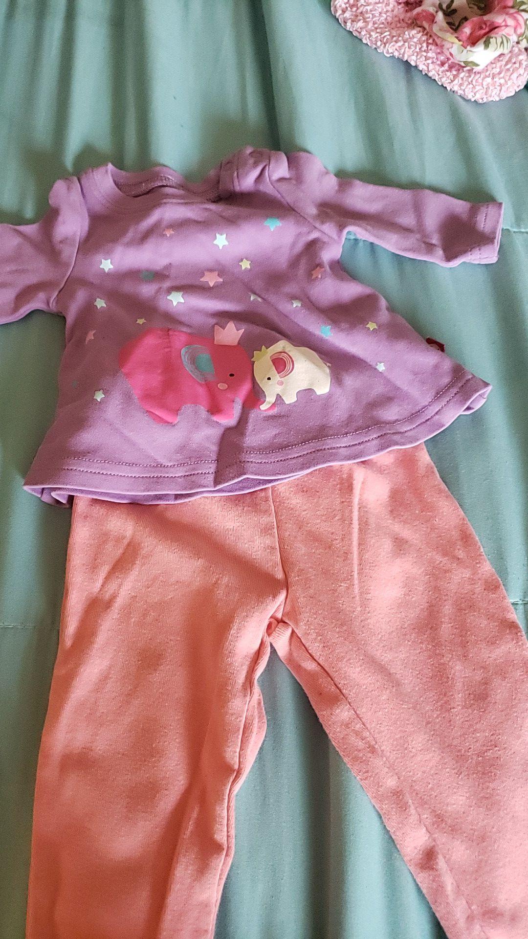 Baby Girl set of Clothing 3-6M