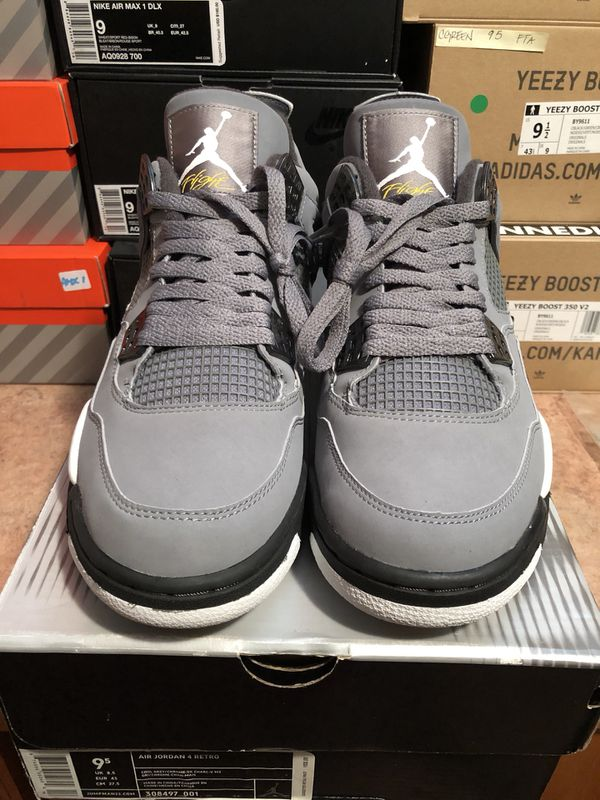 the latest 09847 74fac NIKE AIR JORDAN 4 COOL GREY Sz 9.5 DS for Sale in Chicago, IL - OfferUp