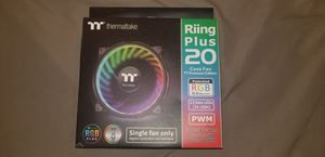 Thermaltake 200mm Riing Plus RGB Fan for Sale in Washington, DC