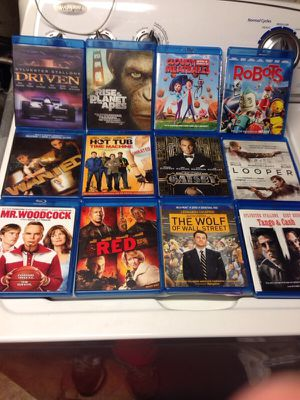 Blu ray DVDs $2 each for Sale in Alexandria, VA