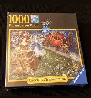 Ravensburger 1000pc. PremiumJigsawPuzzle Cinderella's Transformation Artist Ruth Sanderson for Sale in Las Vegas, NV