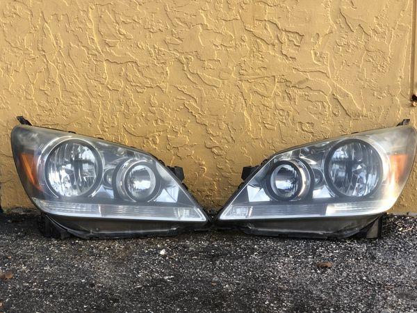 2005 2006 06 2007 07 Honda Odyssey Left Right Side Headlight Lamp Oem With Bulb