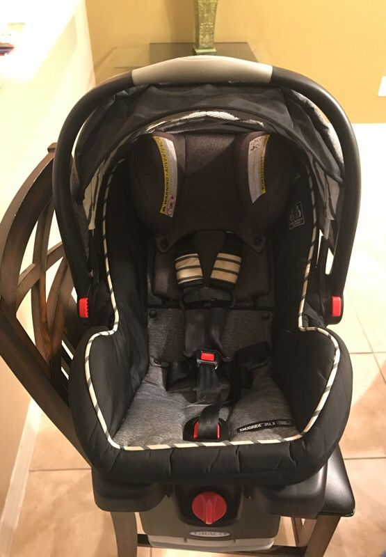 Graco Snugride Snuglock 35 Dlx Infant Car Seat Holt For In