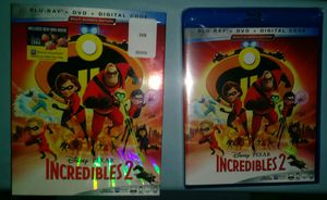 The Incredibles 2 brand new un-opened Blu-Ray + DVD + Digital cody combo pack for Sale in St. Louis, MO