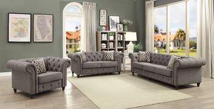 New Aurelia 3 Pc Living Room Set (Loveseat Chair Sofa) for Sale in Miami, FL