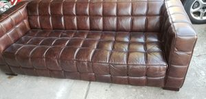 Photo Leather sofa for Art Van's urban collection