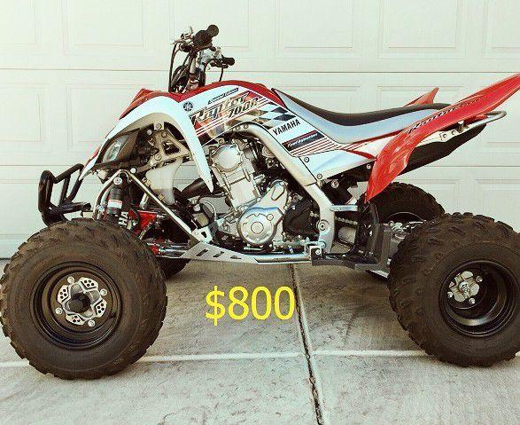 Photo  FOR SALE 2008 Yamaha Raptor Final Price$800
