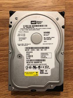 Western Digital 40gb hard drive Thumbnail