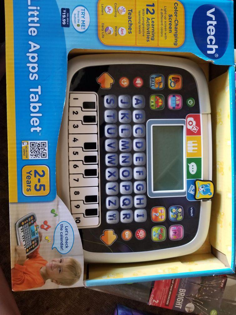 New Vtech Little Apps Tablet