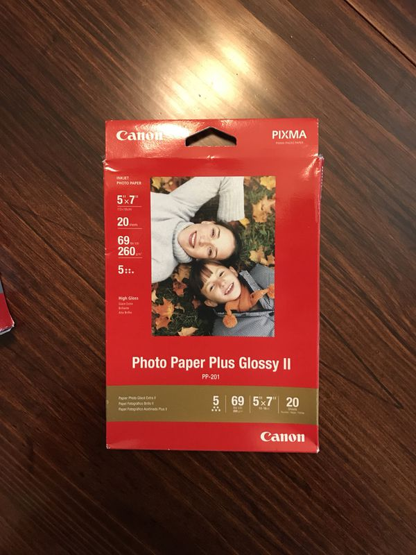 Lot Of Canon Photo Paper For Sale In Fort Worth Tx Offerup
