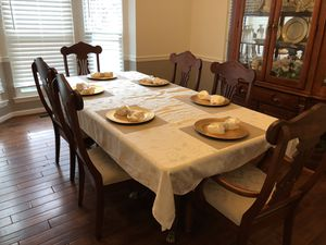 REAL WOOD Dining room set for Sale in Fort Washington, MD