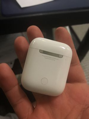 Real Apple EarPods charger box 1 week new (serious buyers only) for Sale in Falls Church, VA