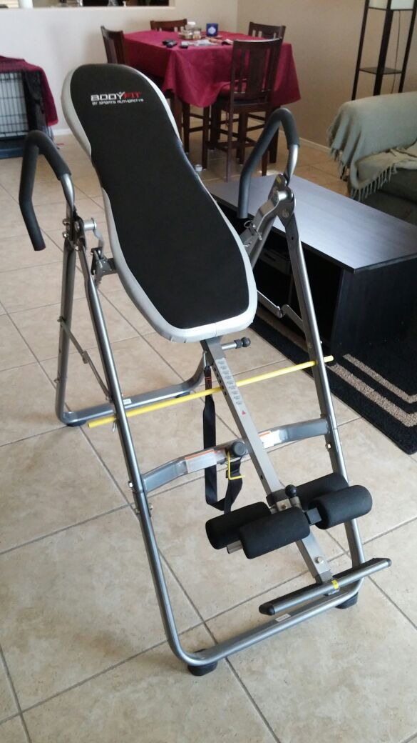 Body Fit Inversion Table By Sports Authority For Sale In