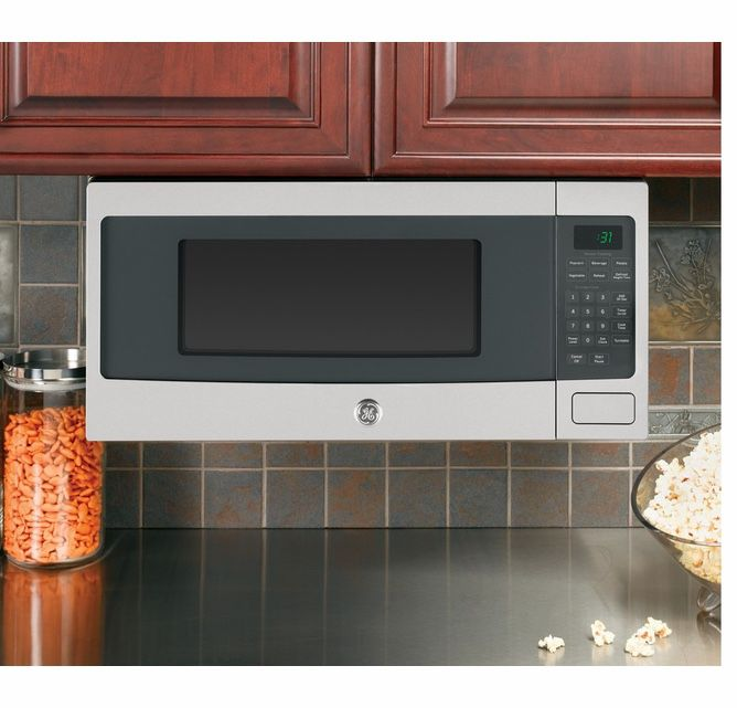 GE PROFILE 1.1 Cu. Ft. MID SIZE MICROWAVE IN STAINLESS STEEL